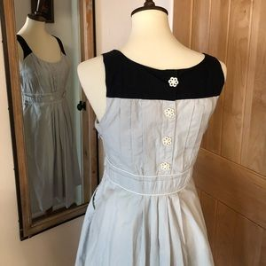 Anthro Floreat Retro Fit and Flare Dress